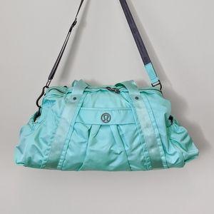 RARE Lululemon Endeavour Duffel Bag Aruba Blue